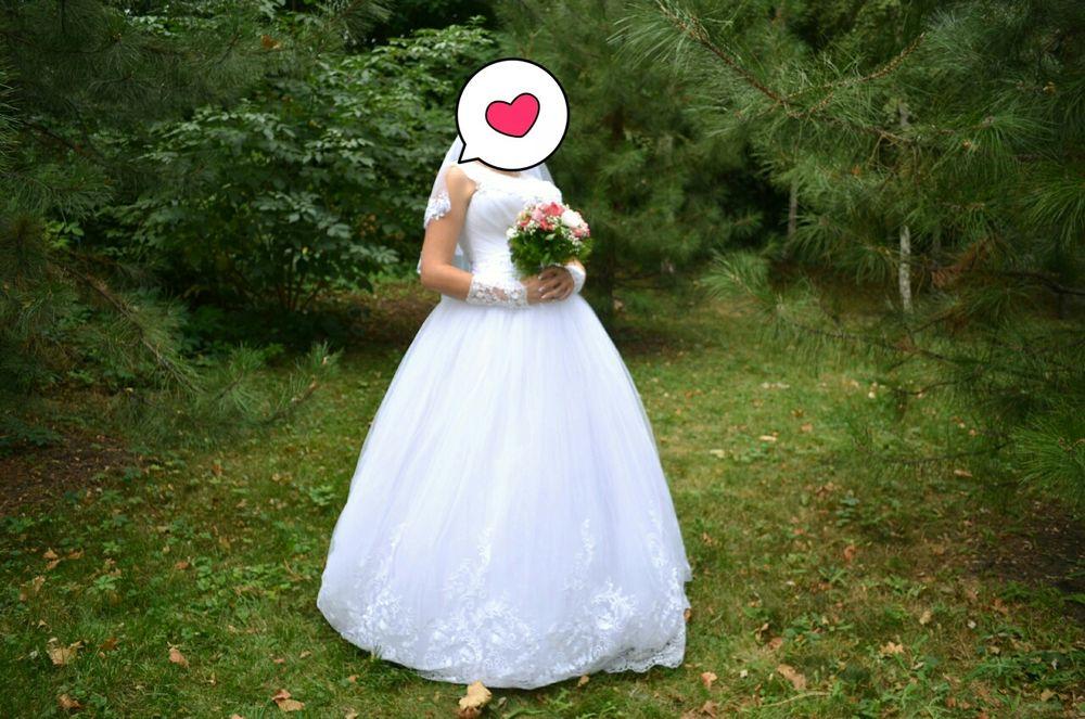 Свадебное платье Макеевка - изображение 1