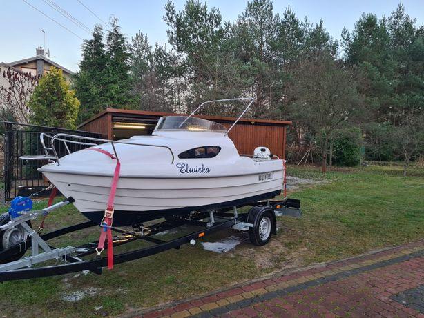 Piękna Romana łódka kabinowa 4.60 jak nowa