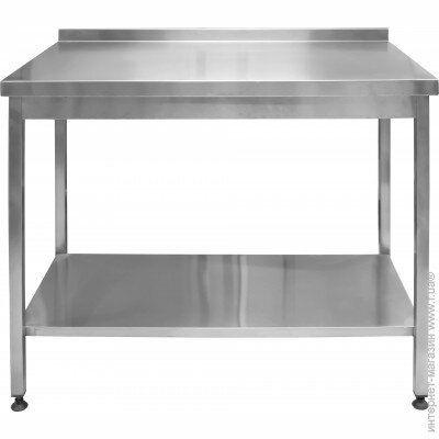 Стол с п нижней полкой для разделки мяса (нержавейка),б/у- 2950 грн.