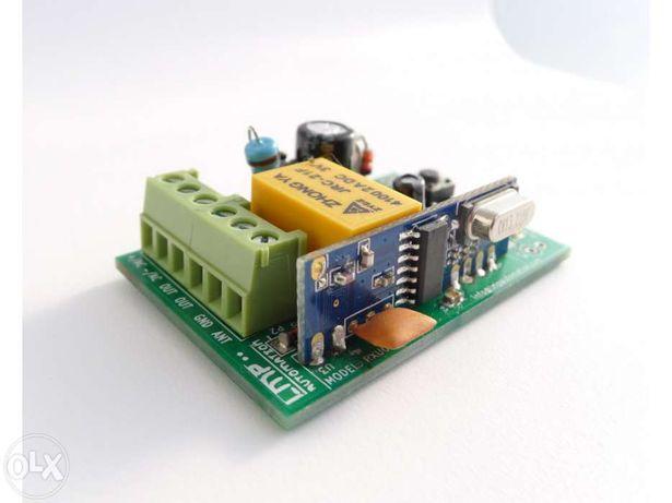 RXU02 Receptor universal automatismo portão + 2 comandos
