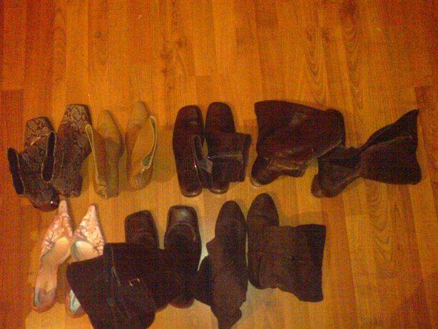 Buty damskie zimowe letnie mało używane rozmiar 40 - 39