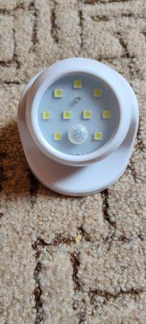Сенсорный LED фонарик, ночник, лампа на батарейках