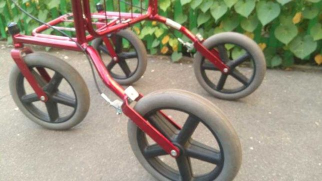 Ролатор ходунки на колёсах удобные большие колёса ВЕЗДЕХОДЫ