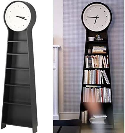 Relógio alto ikea prateleiras livros estante móvel livreiro ps pendel