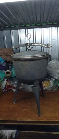Kociołek Myśliwski 11 litra na ognisko Kociołek Żeliwny