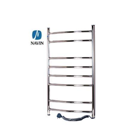 Электрический полотенцесушитель NAVIN 480х800. Бесплатная доставка
