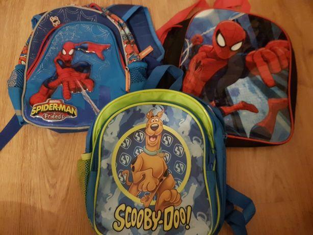 Male Plecaki przedszkolne dla dzieci