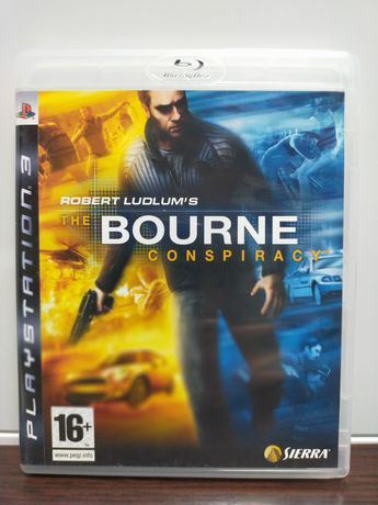 The Bourne Conspiracy PS3 stan idealny