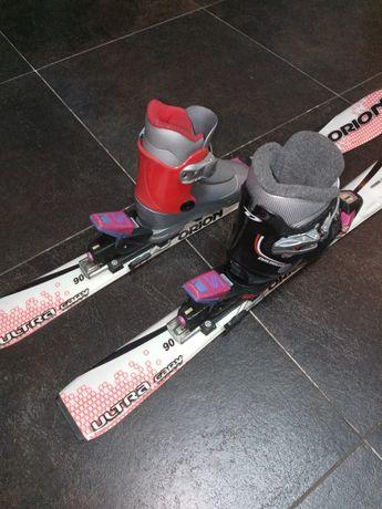 Super zestaw dla malego narciarza