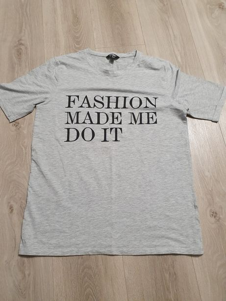 T-shirt golddigga Fashion made me do it L
