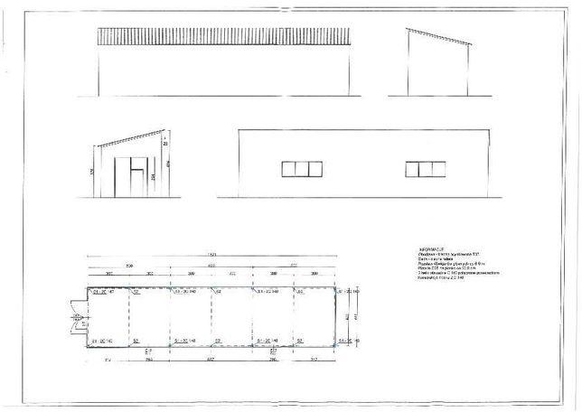 Hala Garaż Wiata Konstrukcja Stalowa