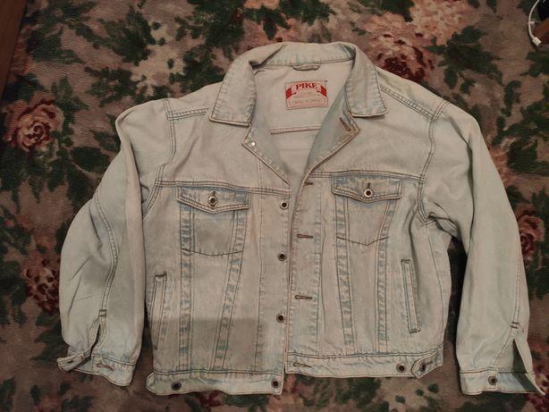 Super stylowa stara kurtka jeansowa rozmiar L Pike,z lat 80tych 90tych