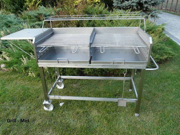 Gastronomiczny grill nierdzewny 1200 x 600