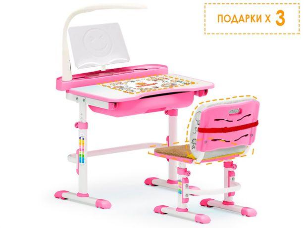 Школьный комплект парта+стул Evo-kids Evo-17 (с лампой) Доставка