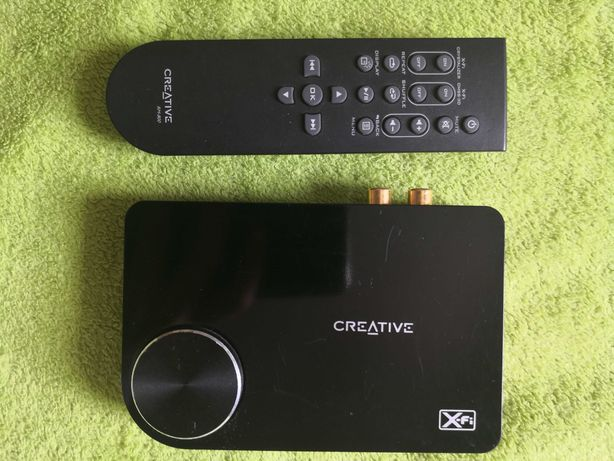 Karta dźwiękowa Creative Sound Blaster X-Fi Surround 5.1 zestaw