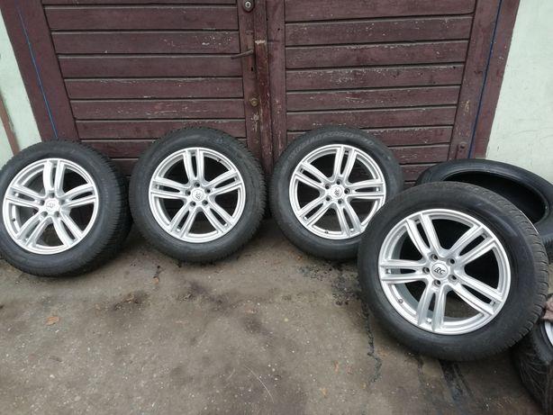 Koła zimowe Volvo XC60 XC90 felgi 5x108 18 Dunlop 235/60R18 Wolsztyn