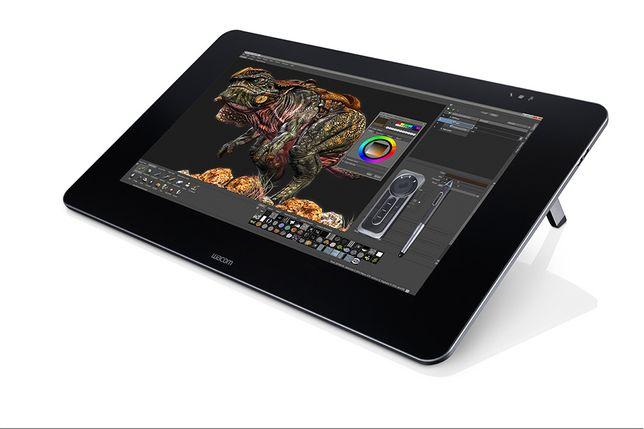 Монитор планшет Wacom Cintiq 27QHD (DTK-2700) + подставка Cintiq Ergo
