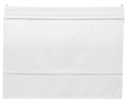 Ikea Ringblomma rolety rzymskie białe