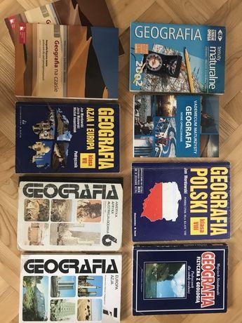 Matura z geografii, 9 książek + matura z polskiego gratis
