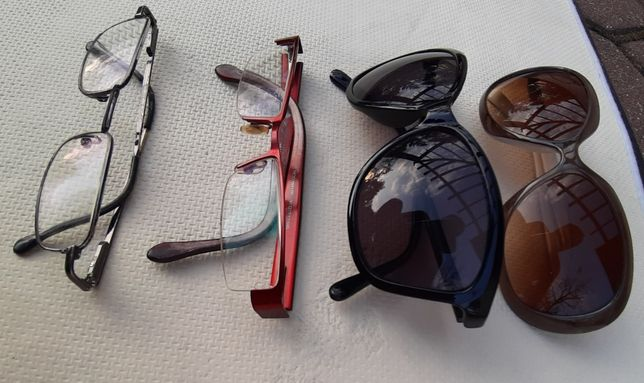 Okulary Vision express 4sztuki zestaw damski na prezent