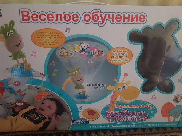 Мобиль детская карусель