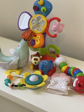 Гризунці, погремушки, infantino, taf toys, baby team
