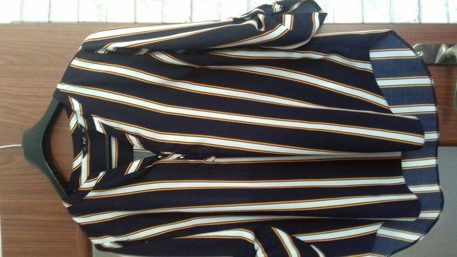 Bluzka koszula 44 paski