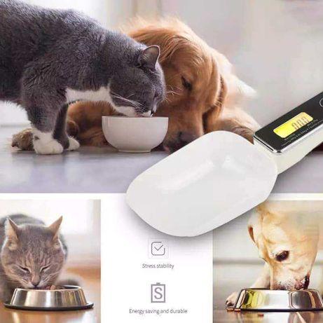 Balança de cozinha peso animais ração viagem cao gato
