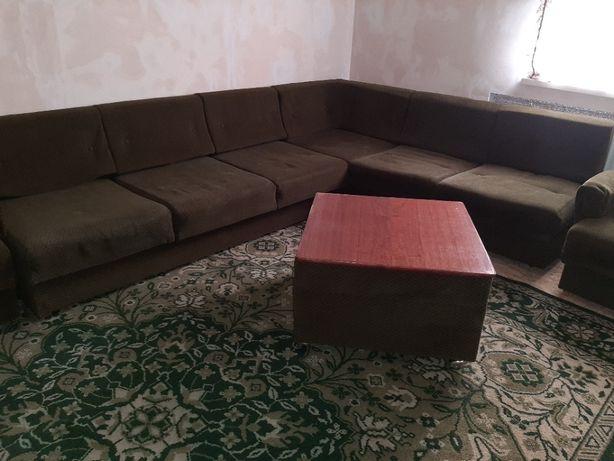 Продажа дивана и кресла.