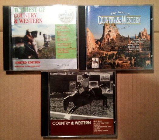 Zestaw country & western 3 CD
