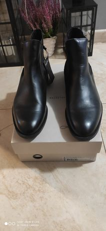 Selected Homme Leather Chelsea boot