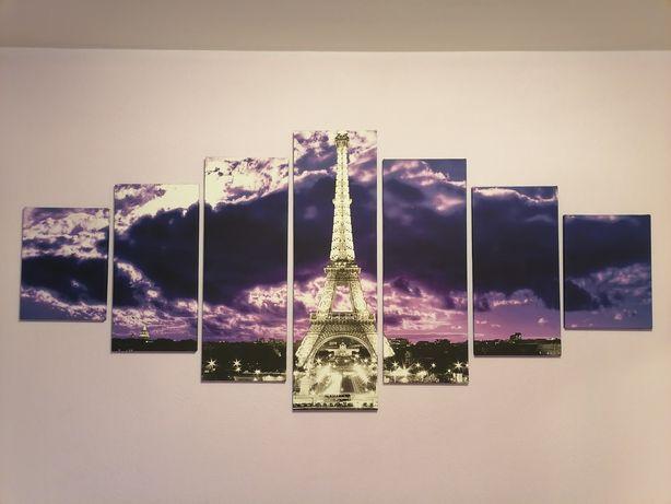 Obraz drukowany częściowy 210 x 100 cm Paryż