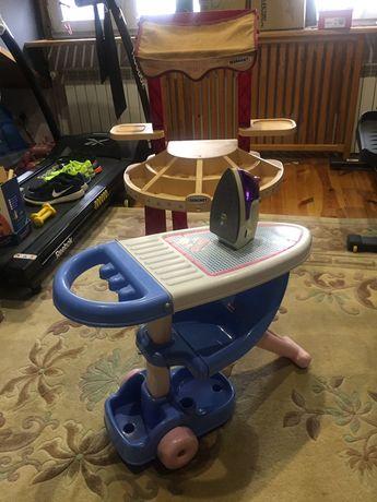 Deska do prasowania+żelazko zabawka