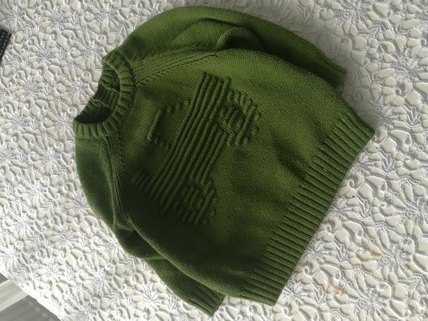 Sweter z Anglii 6-9 miesięcy