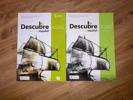 Zestaw książek Descubre curso de español A1.2/2 z płytą
