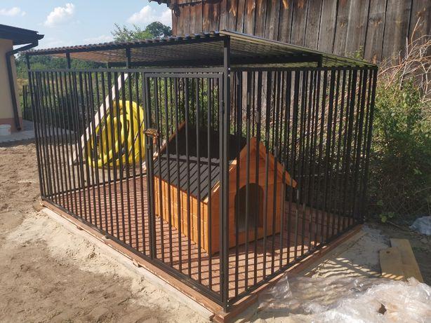 Kojec dla psa Boks Klatka buda 3x3m