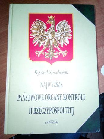 Najwyższe Państwowe Organy Kontroli II Rzeczpospolitej - R. Szawłowski
