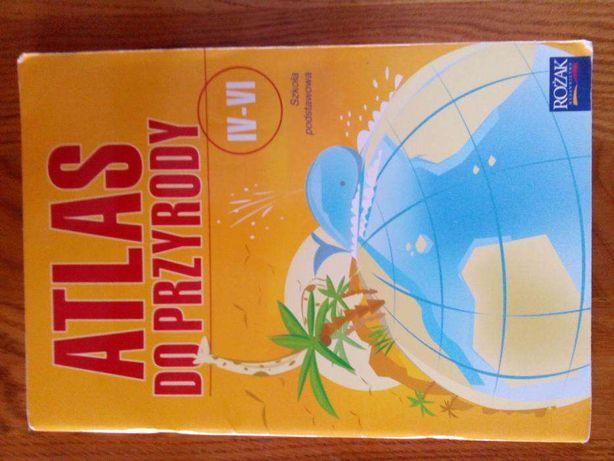 Atlas do przyrody klasa IV-VI szkoła podstawowa