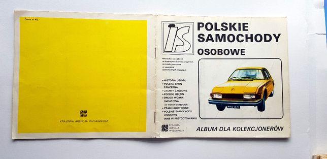 Polskie Samochody Osobowe Album dla Kolekcjonerów IS #33