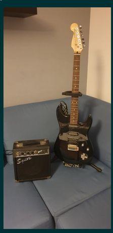 Gitara elektryczna Fender i wzmacniacz