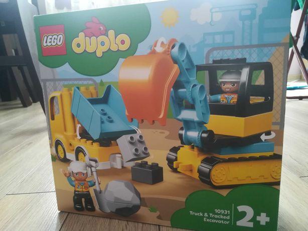 Nowe LEGO 10931 Ciężarówka i koparka gąsienicowa