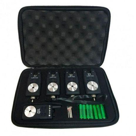 Набор сигнализаторов поклевки с пейджером 4 + 1 Sams Fish SF23799