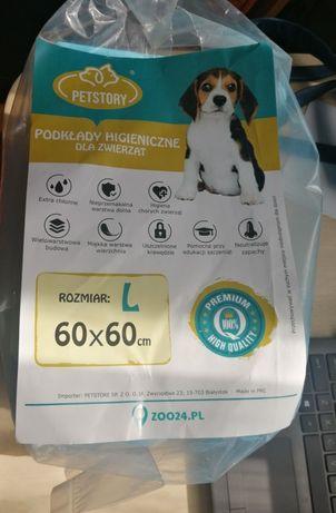 Podkłady dla psa szczeniaka nauka sikania 60x60