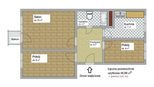 Sprzedam mieszkanie na Mazurach