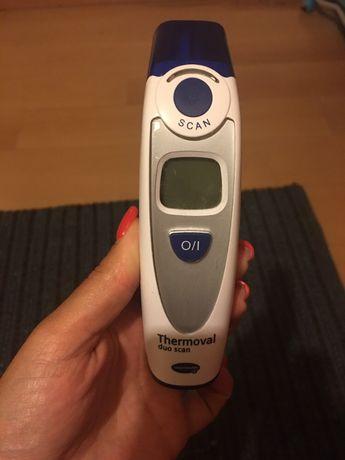 Termómetro para testa e ouvido