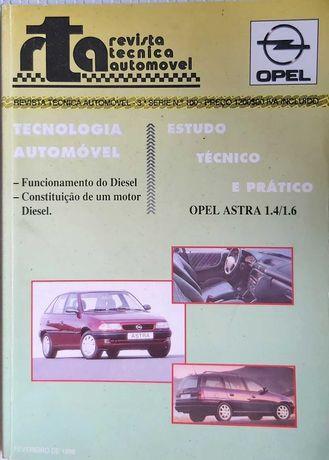 Manual mecânico de Opel Astra 1.4 e 1.6