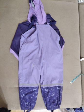 Костюм-дождевик полукомбинезон непромокайка Lupilu+курточка 2-5лет