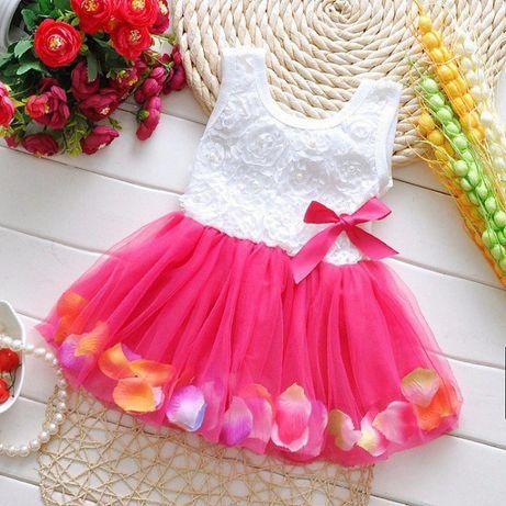 Шикарное нарядное платьице для принцессы.(92, 98, 104)