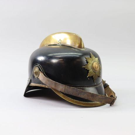 Hełm strażacki oryginał z epoki