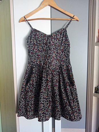 Letnia sukienka w roz S